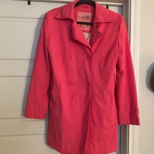 ColeB Sport/rain coat - Hot Pink